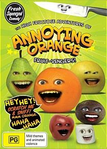 - Annoying Orange - Volume 1 The Annoying Orange is an American comedy series created by film student and MTV production assistant Dane Boedigheimer in 2009.