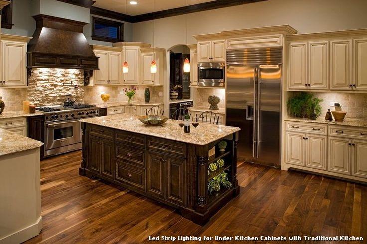 Led Strip Lighting for Under Kitchen Cabinets with Traditional Kitchen, kitchen lighting from Led Strip Lighting for Under Kitchen Cabinets
