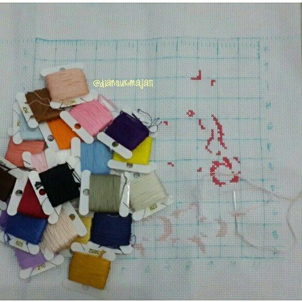 Next.... #process #newproject #my3stsodastitch #pesananorang #sodacrossstitch #crossstitchkorea #crossstitch #crossstitcher #crosstitchlove #crossstitchcrazy #cross_stitch #crossstitchindonesia #dmc #embroidery #handmade #needlecraft #needlework #projects #pixelart #stitch #sewing #xstitch #sulam #kristik #instacrossstitch #hobby