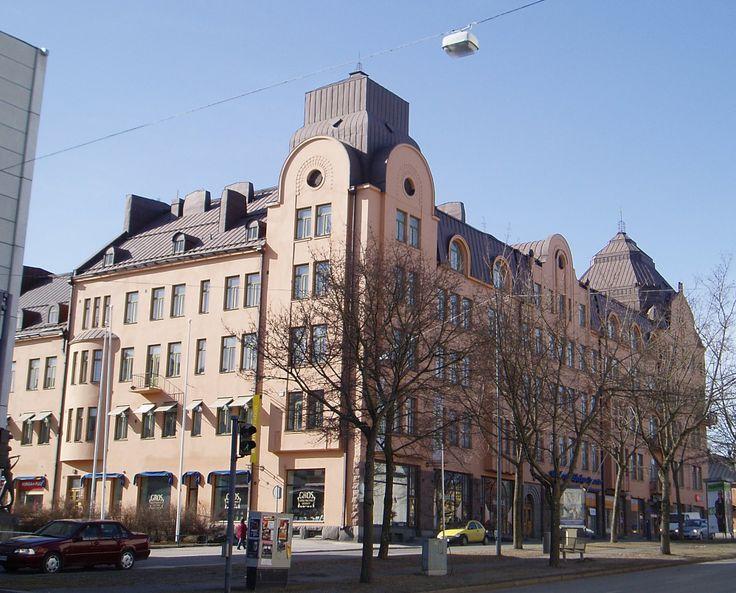 Jugendstil Wasaborg house in Vaasa, Finland