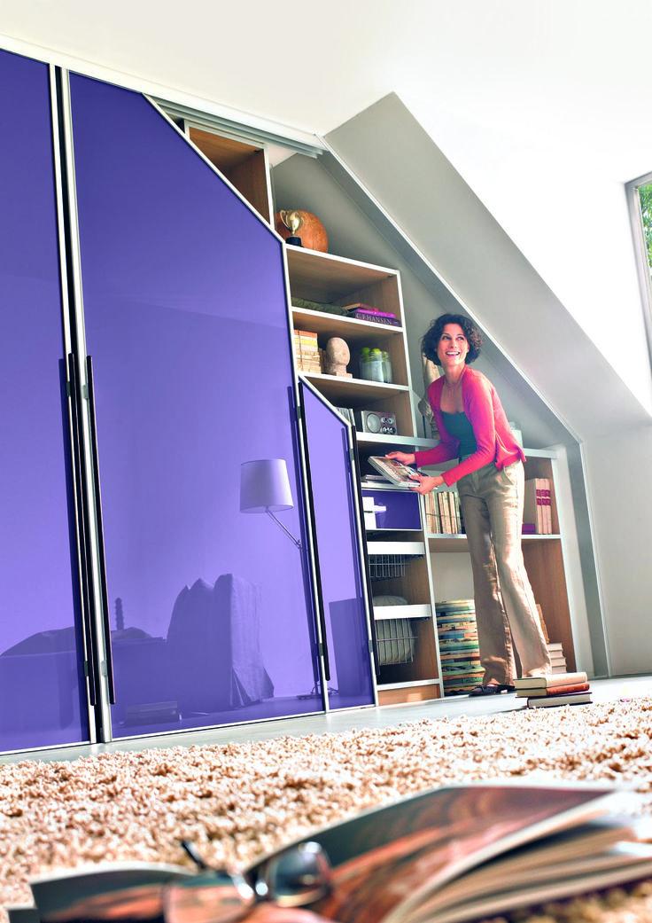 8 best Sloping Ceiling Sliding Doors images on Pinterest ...