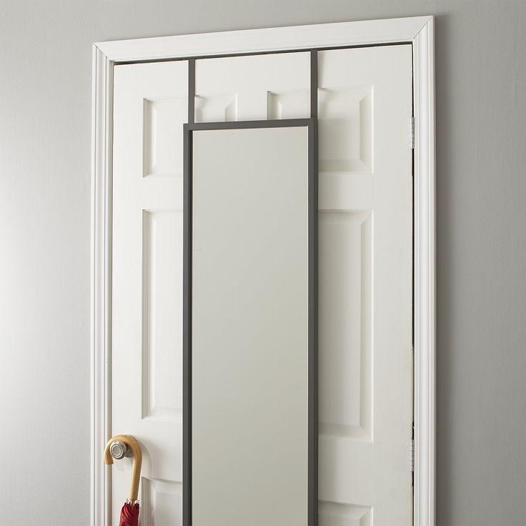 Over the Door Mirror - Crate and Barrel & Best 25+ Over the door mirror ideas on Pinterest | Hanging makeup ... Pezcame.Com