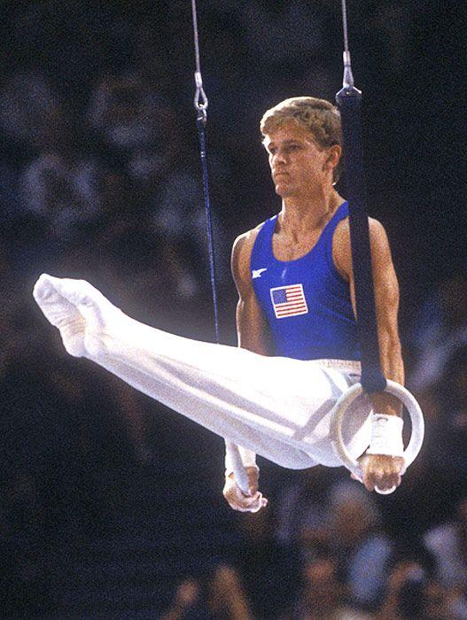 peter vidmar gymnastics meet videos