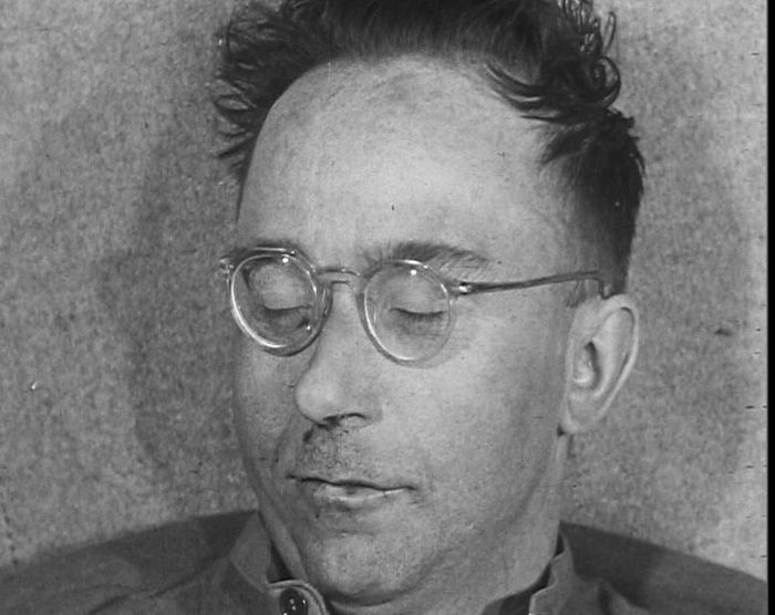 Faces of Evil - our new gallery looks at some of the criminals of the past: http://www.britishpathe.com/gallery/faces-of-evil/ Image: Himmler used his racist Nazi ideology to justify the murder of millions.