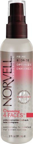 Norvell Bronzing 4-Faces Touch Up & Facial Sunless Spray