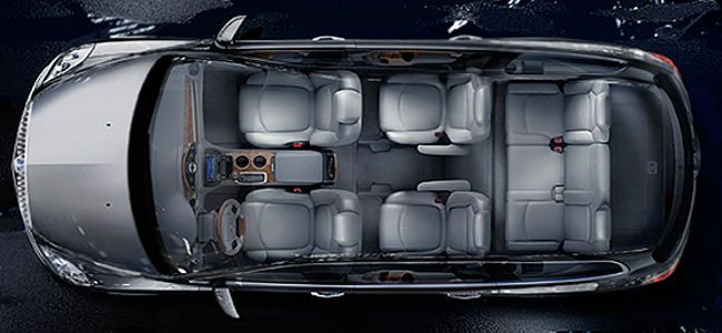 bird 39 s eye view of the 2013 buick enclave seats up to 8. Black Bedroom Furniture Sets. Home Design Ideas
