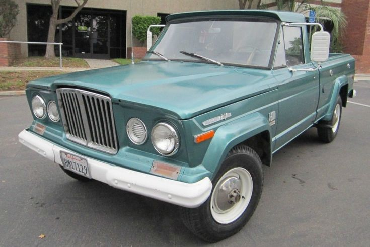Drive Or Restore? 1971 Jeep Gladiator J10 - http://barnfinds.com/drive-or-restore-1971-jeep-gladiator-j10/