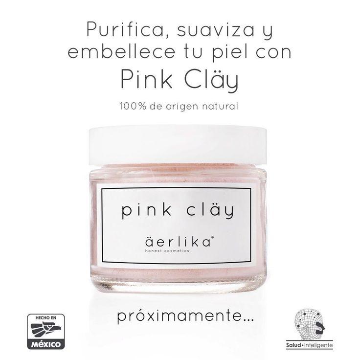 Proximamente podrás adquirir nuestra Pink Clay. Mascarilla natural compuesta de…