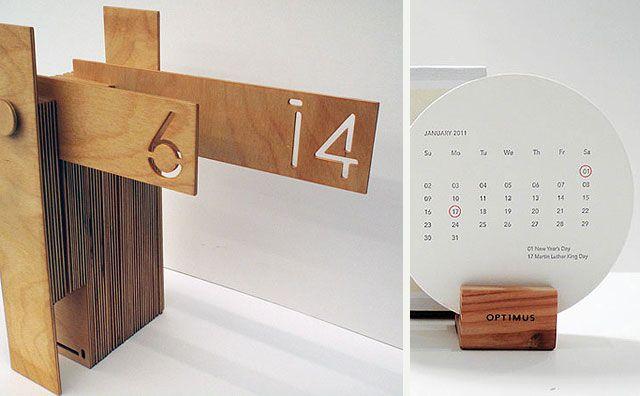 45 calendarios originales para los 365 del año  |  DECOFILIA.com