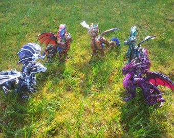 Custom Made dragon Sculpture by MakoslaCreations on Etsy