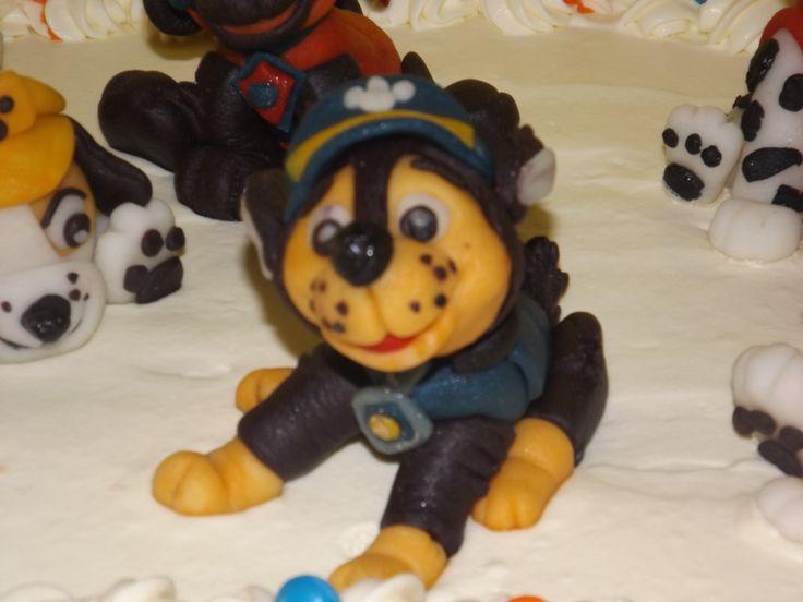 Figura Pasta goma Paw Patrol Chase