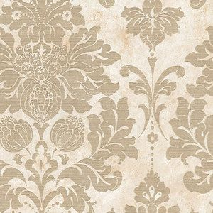 Beige marble with Light Gold Damask