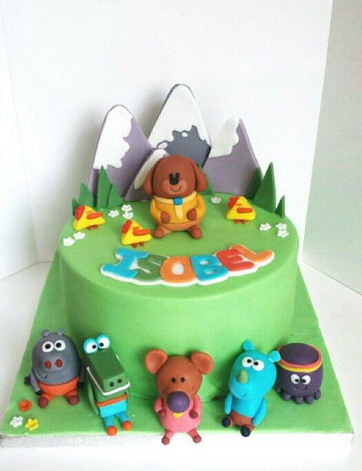 Hey Duggee cake. Based on the Cbeebies TV program :)