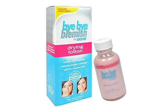 Bye Bye Blemish Drying Lotion Proven Spot Treatment Acne Repair Overnight Results  size 1 fl oz  295 ml * You can find more details by visiting the image link.