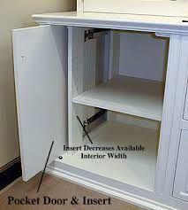 Image result for retractable cupboard door hinges
