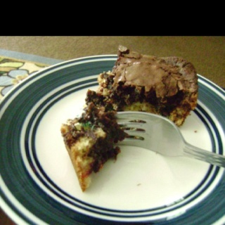 These are awesome and so simple to make. All you need is Pillsbury chocolate chip cookie dough ( ready made) creamy peanut butter m 's and Pillsbury brownie mix.   Layer in order as I put it and bake according to the brownie directions... OMG ...like heaven