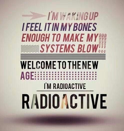 Imagine Dragons #lyrics #radioactive #basstothemax