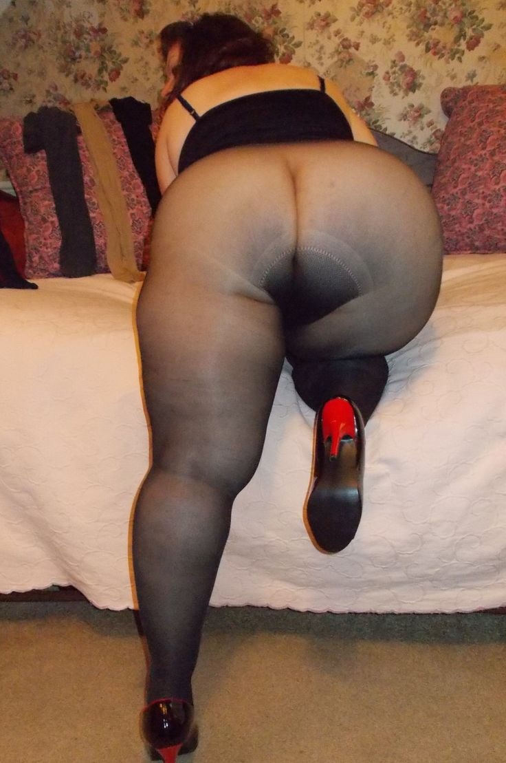 Asshole looks ass fetish hose pantie