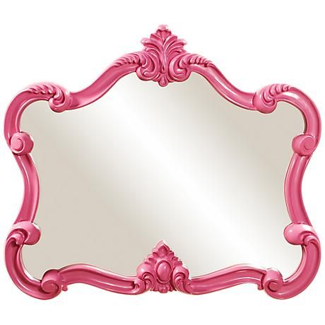 Pink Wall Mirror top 25+ best pink wall mirrors ideas on pinterest | pink mirror