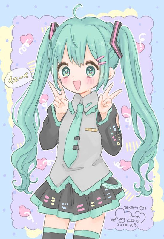 25+ Best Ideas About Hatsune Miku On Pinterest