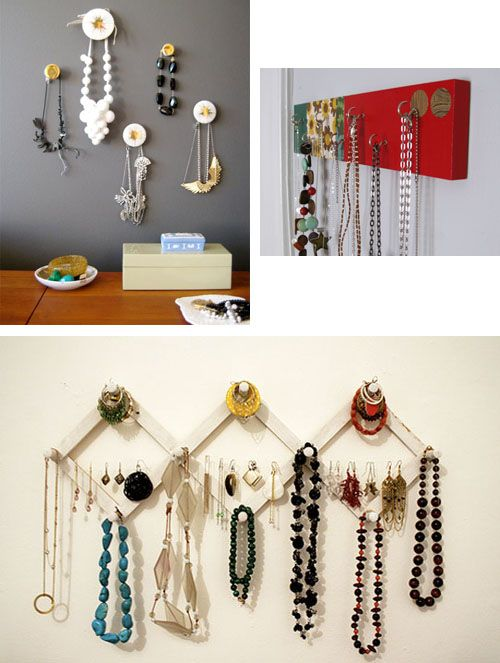 22 Best Images About Diy Jewelry Wall Hanger Stand On