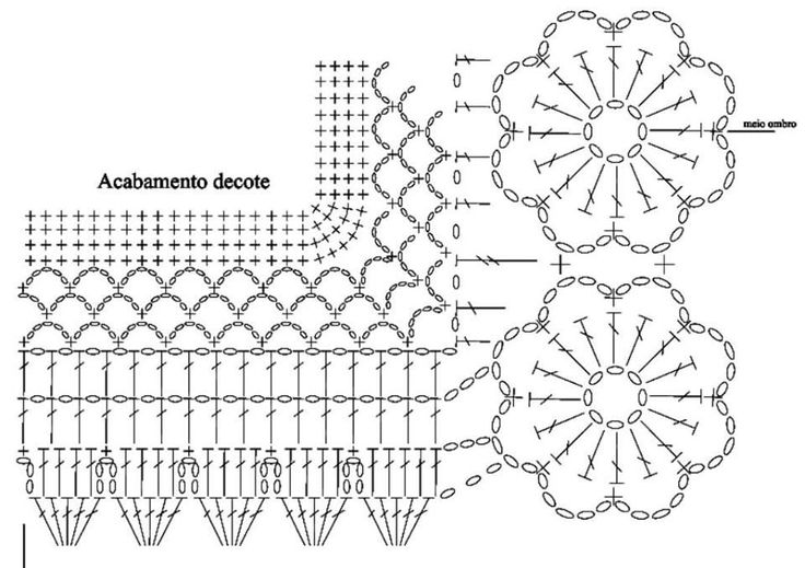 Luty Artes Crochet: Blusa de crochê com gráfico                                                                                                                                                                                 Mais