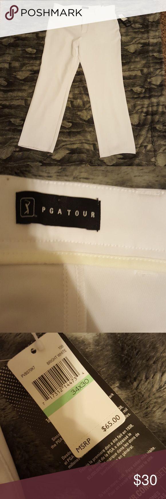 PGA Tour Golf Pants NWT PGA Tour gold pants. Size 34x30. PGA Tour Pants