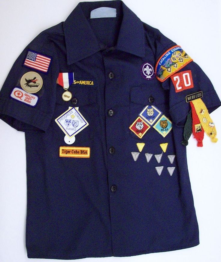 Patch and Badge Placement - Cub Scouts Pack 754