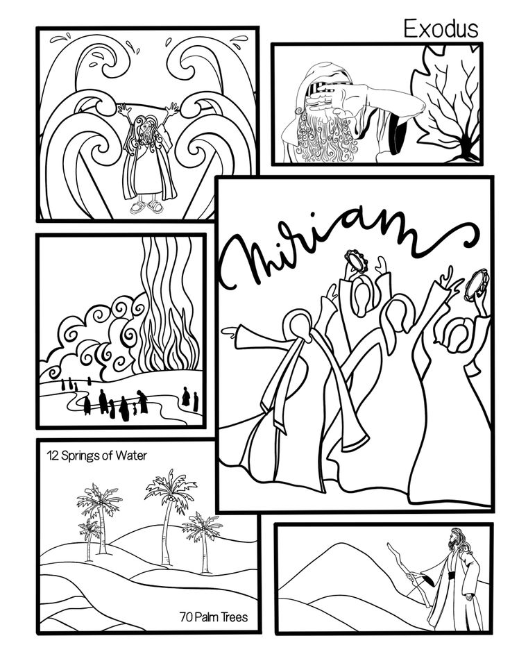 1697 best Christian Coloring Pages-OT images on Pinterest
