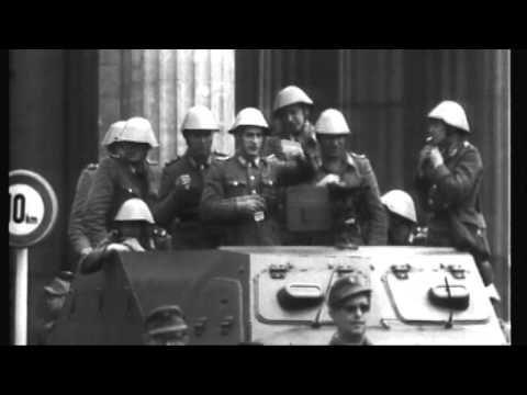1961: Der Bau der Mauer - YouTube