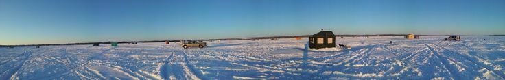 Looking out on Lake Temiskaming. Minus twenty out the wind howls. Blinding white snow. The true North