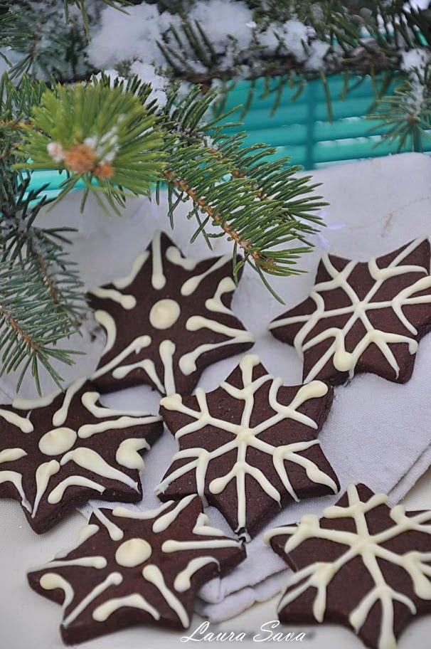 Fursecuri cu cacao Fulg de nea