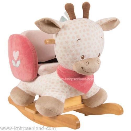 Nattou-Schaukelpferd-Schaukeltier-Schaukel-Pferd-Schaukelspielzeug-Babyschaukel