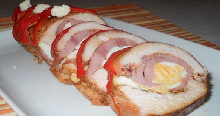 Výborná kuřecí roláda s lahodnou náplní! Jednoduchá a velmi chutná!   Milujeme recepty