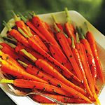 Carrots with Parsley Butter. By Rheanna Kish and The Test Kitchen.