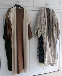 Rachael Rabbit: Nativity Pageant: Shepherds Costumes