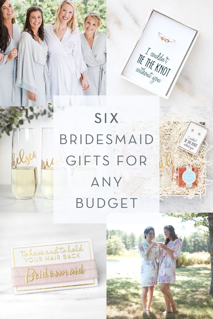 Gorgeous bridesmaid gifts that can fit every budget!  Shop more at foxblossom.com