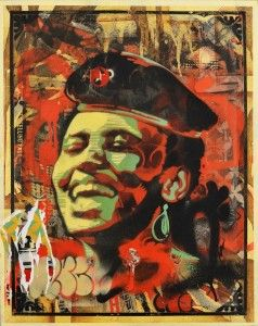 KWitbooi_Che Makeba II_51x40cm_oil & spraypaint on canvas_L