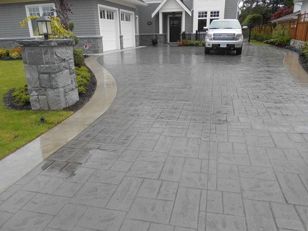 Stamped Concrete Veneer : Best cambridge stone veneer images on pinterest