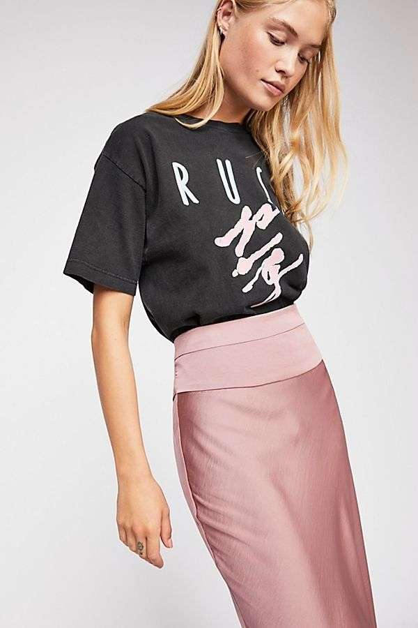 7a7367935a9493 Normani Bias Skirt - Silk Satin Mauve Pink Midi Skirt - Best Fall Skirts