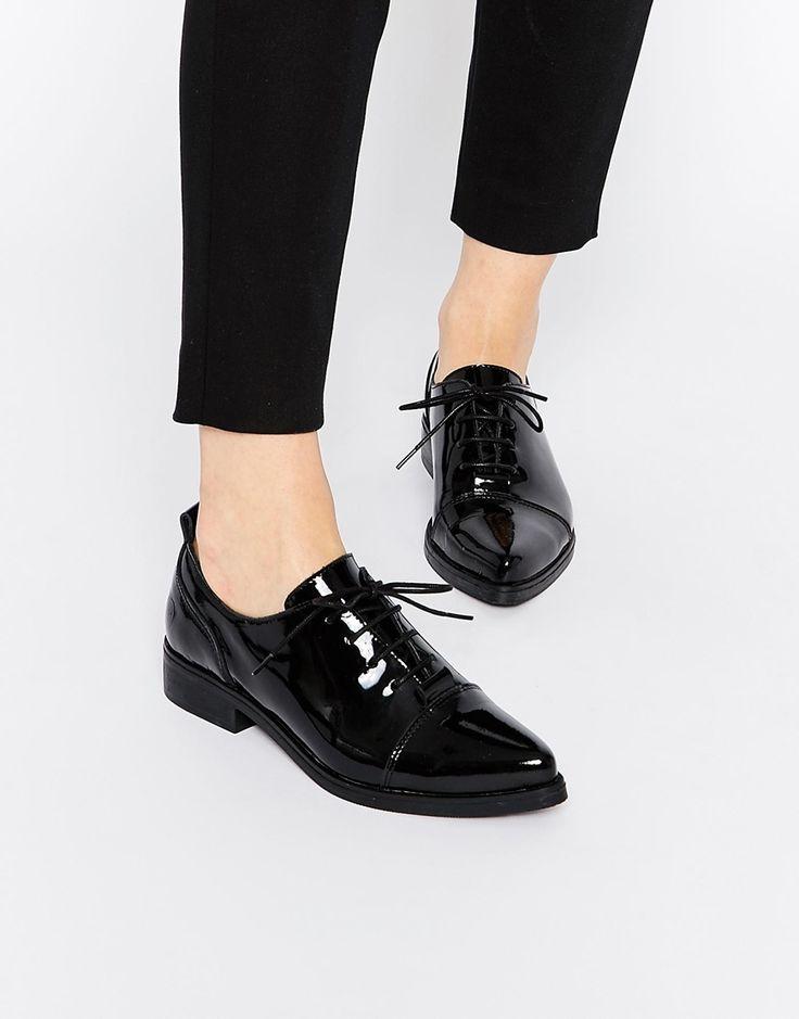 Image 1 - Bronx - Chaussures plates vernies à porter de préférence si vous êtes très fine pour ne pas tasser votre silhouette.