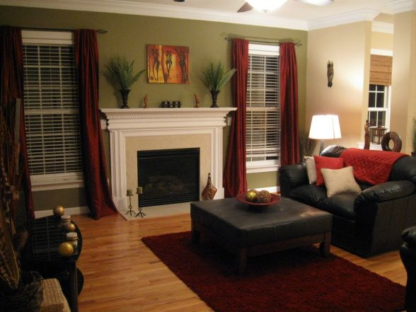 10 images about living room with brown coach on pinterest for African inspired living room ideas