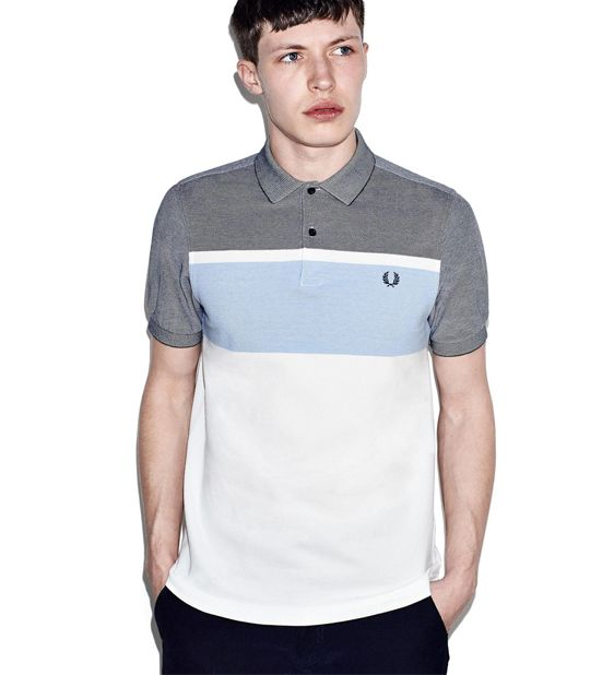 fred perry - oxford stripe polo