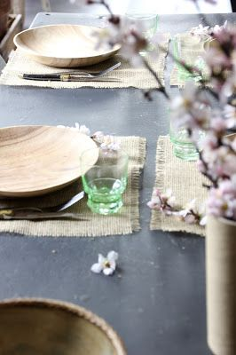 regardsetmaisons: Ma table kinfolk avec 2 DIY inclus