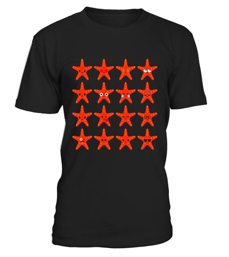 Starfish Emoji Different Emotion Shirt T-Shirt Star Fish Tee  #AssumptionDay #Germany #Oktoberfest #GermanUnityDay #DayofReformation #AllSaintsDay #StStephensDay