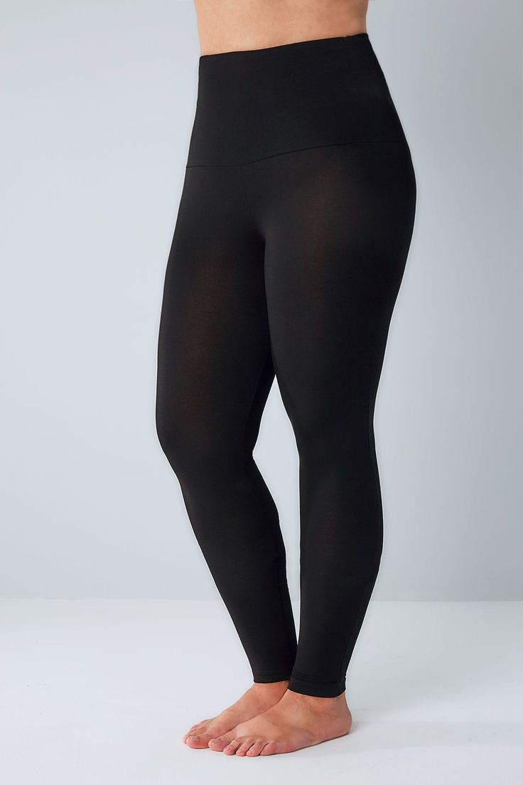 Black Soft Touch Cropped Leggings plus Size 16 to 32