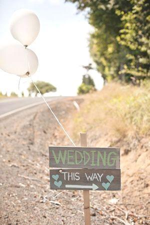 Hochzeitsdekoration im Freien   – Hochzeit