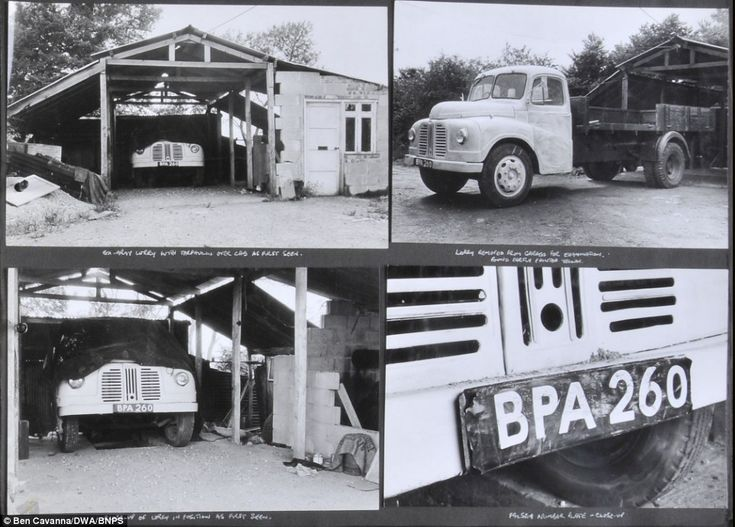 Vehicle: A truck used by the Great Train Robbers to transfer their £2.6million of stolen money taken from the Royal Mail train.