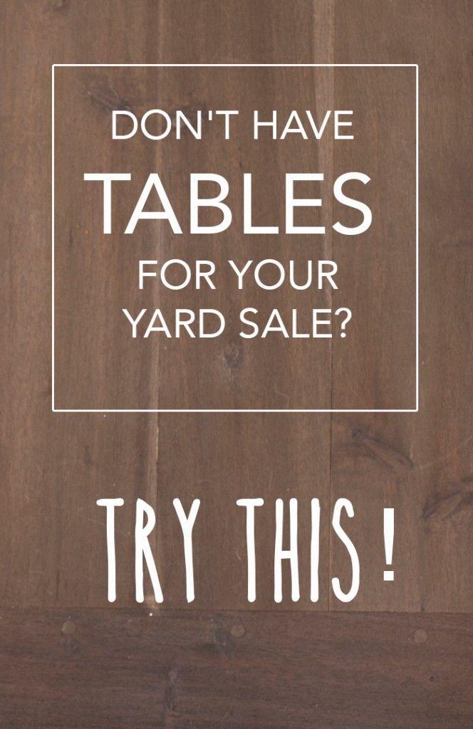 25 Best Ideas About Garage Sale Tips On Pinterest Yard