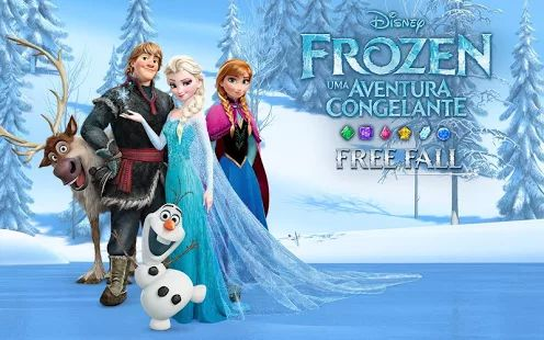 Frozen Free Fall: miniatura da captura de tela